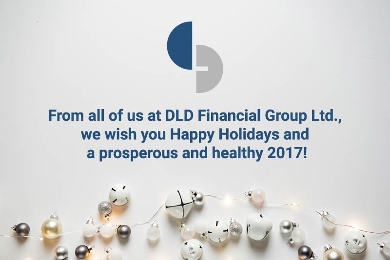 we wish you Happy Holidays and a prosperous and healthy 2017